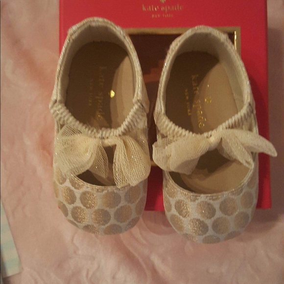 be2383d4c4dd Kate Spade Baby Shoes Size 2